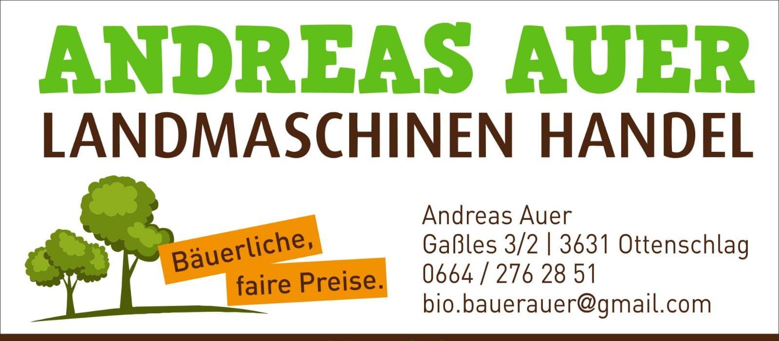 Andreas Auer Landmaschinen